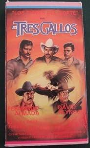Amazon.com: Los Tres Gallos [VHS]: Luis Accinelli, Fernando Almada