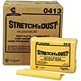 Chix® Stretch 'n Dust Cloths, 12 3/5 x 17, Yellow
