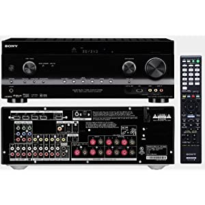 "Sony 300-Disc Mega-Storage CD Changer / Player + Sony HD Digital Cinematic Sound 770 Watts 7.1 Channel 3D A/V Receiver with iPhone & iPod Dock + Yamaha Natural Sound Custom Install In-Wall 3-Way 120 watts Speaker (Set of 4) with 1"" Silk Soft Swivel Dome Tweeter, 2"" Swivel Midrange & 6.5"" Cone Woofer + 100ft 16 AWG Speaker Wire + HDMI Cable"