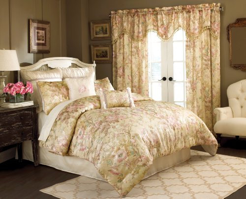 Chapel Hill By Croscill Rose Garden Comforter Set, Wc King