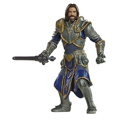 Merc Warcraft 2 Figuren 6cm Pack 1 Lothar & Horde Warrior [Edizione: Germania]