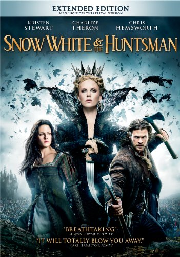 Snow White and the Huntsman (Directed by Rupert Sanders) - In the epic action-adventure Snow White & the Huntsman, Kristen Stewart (Twilight) plays the only person in the land fairer than the evil queen (Oscarr winner Charlize Theron) who is out to destroy her. But what the wicked ruler never imagined is that the young woman threatening her reign has been training in the art of war with a huntsman (Chris Hemsworth, Thor) who was dispatched to kill her. Sam Claflin (Pirates of the Caribbean: On Stranger Tides) joins the cast as the prince long enchanted by Snow White's beauty and power. The breathtaking new vision of the legendary tale is from Joe Roth, the producer of Alice in Wonderland, producer Sam Mercer (The Sixth Sense) and acclaimed commercial director and state-of-the-art visualist Rupert Sanders.