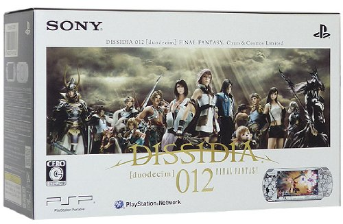 SONY PSP Playstation Portable DISSIDIA 012 Duodecim FINAL FANTASY Chaos Cosmons Limited Japan Import