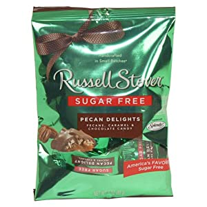 Russell Stover Sugar Free Pecan Delights 3 Oz Bag 3 Pack by Russell Stover