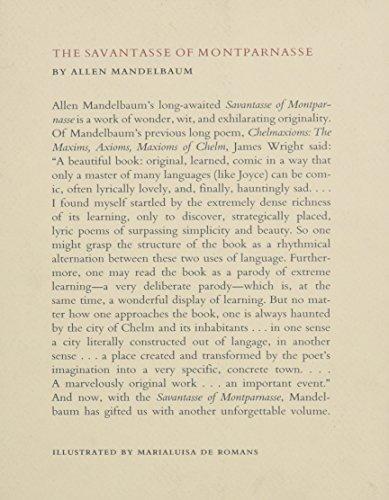 The Savantasse of Montparnasse: With Ten Drawings from 'the Savantasse Scrolls' by Marialuisa De Romans