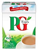 PG Tips 160 Pyramid Teabags - 500 g, Pack of 4