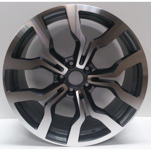 2-x-roues-en-alliage-R8-2012-Style-Gris-19-x-85-greggson-gg-107-cc
