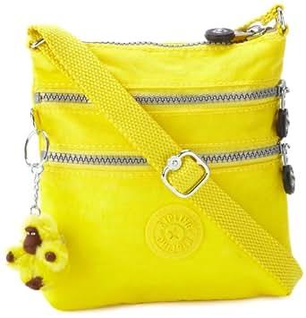 Kipling Luggage Alvar Minibag, Neon Yellow, One Size