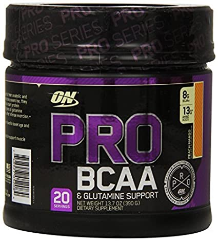 Optimum Nutrition Pro BCAA Drink Mix, Peach Mango, 13.07 Ounce by Optimum Nutrition