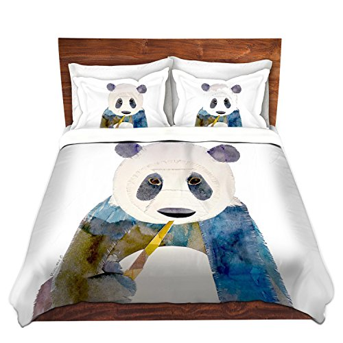 Duvet Cover Brushed Twill Twin, Queen, King From Dianoche Designs By Marley Ungaro Home Decor And Bedding Ideas - Panda