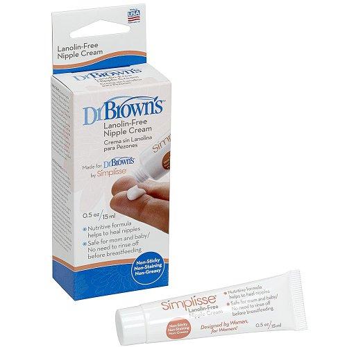 Dr. Browns Simplisse Nipple Cream .05Oz Tube