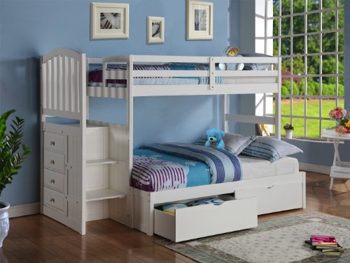 Bunk Beds Twin Over Full 173038 front