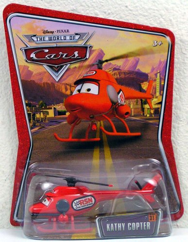 Disney Pixar Cars the World of Cars Kathy Copter #31