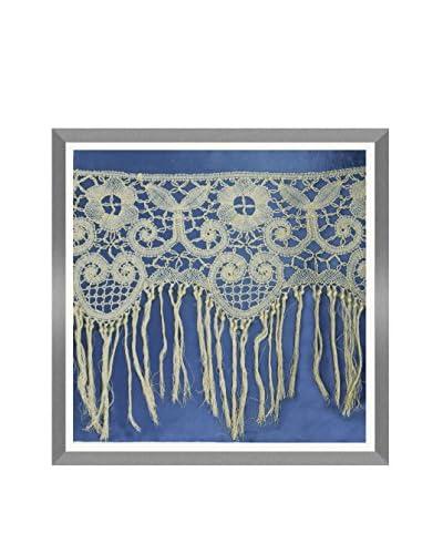 Aviva Stanoff Fringed Lace Hand-Pressed on Twilight Velvet Artwork