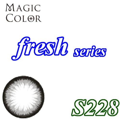 MAGICCOLOR (マジックカラー) fresh S228 度なし 14.0mm 1ヵ月使用 2枚入り