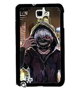 PRINTVISA Premium Metallic Insert Back Case Cover for Samsung Galaxy Note 2 - N7100 - D5893