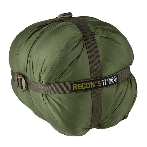 Elite Survival Systems Recon 5 Sleeping Bag, Olive Drab, Rated to -4 Degrees Fahrenheit, RECON5-OD