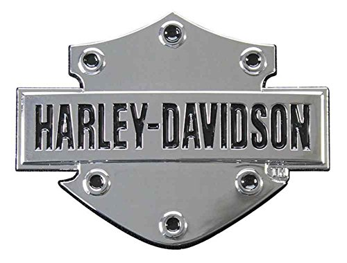 Harley-Davidson Bar & Shield 3D Chrome Decal, XS Size 2.5 x 1.75 inches DC200061 (Chrome Harley Decal compare prices)