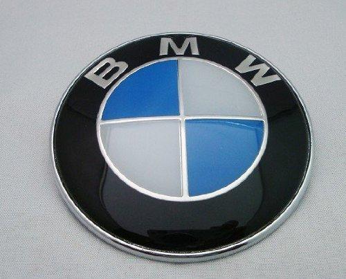 BMW エンブレム 82mm 青 白 ブルー 汎用品