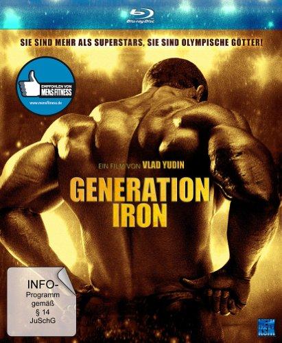Generation Iron (Pumping Iron II) (Digipack im Schuber mit Hochprägung und Goldglanzfolie)[Blu-ray]