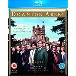 Downton Abbey-Series 4 [Blu-ray]