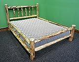 Midwest Log Furniture - Rustic Log Bed - Full