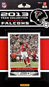 Atlanta Falcons 2013 Score NFL Football Factory Sealed 9 Card Team Set by Atlanta Falcons Team Set