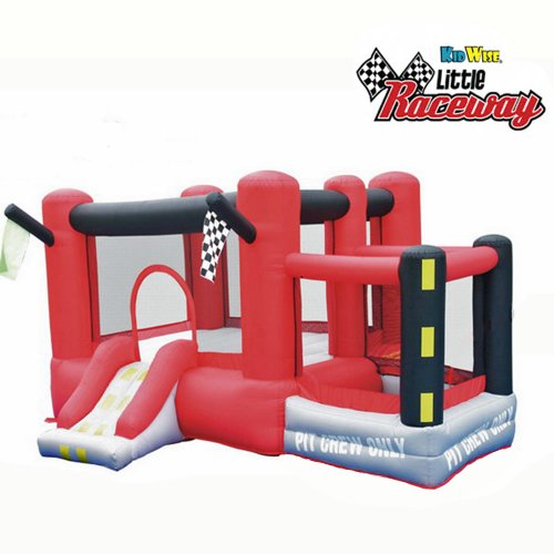 Kidwise Little Raceway Bounce House front-906306