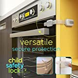 Child-Safety-Locks-Best-Latches-for-Baby-Proofing-Cabinets-Drawers-Cupboards-Doors-Fridge-Childproof-Adjustable-Straps-by-Ashtonbee-6-Pack