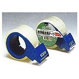 透明梱包用テープ カッター付