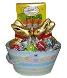 Kissing Bunnies Chocolate Lovers Gift Basket