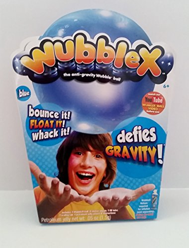 Review Wubble X The Anit-Gravity Wubble Ball BLUE