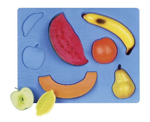 Cheap Fun Guidecraft 3-D Fruit Puzzle (B001MXZ8NI)