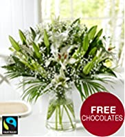 Fairtrade® Lily Bouquet