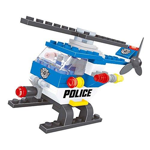 Brictek 21004 Police Helicopter
