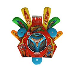 4 Pieces ABS Safety Soft Frisbee Boomerang Set Outdoor Sports Toy