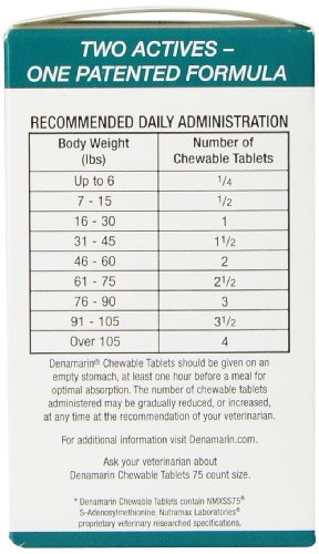 Nutramax Denamarin Tabs For Cats And Small Dogs
