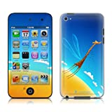 Apple iPod Touch 4th gen skin - Learn to Fly - High quality precision engineered skin sticker wrap for the iPod Touch 4 / 4G (8gb / 16gb / 32gb / 64gb) launched in 2010 / 2011
