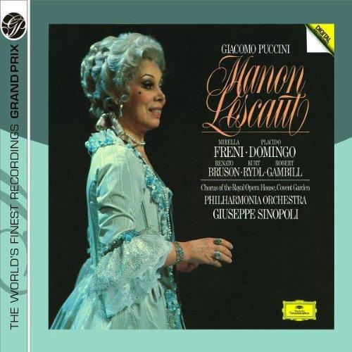 Manon Lescaut (Sinopoli) -Puccini - CD