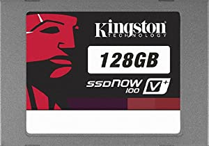 Kingston 128 GB SSDNow V+100 SATA 2 3.0 Gb-s 2.5-Inch Solid State Drive SVP100S2/128G