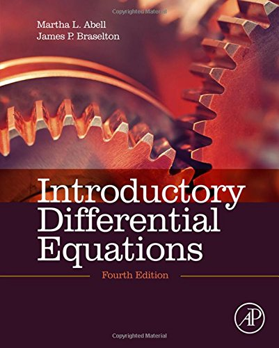 Introductory Differential Equations, Fourth Edition