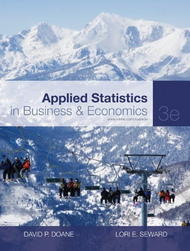 Applied Statistics in Business and Economics (The...