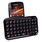 Mini clavier Bluetooth pour Blackberry Bold 9900, Bold 9780, Curve 9300, 8520, Rim Bold 9790 - par DURAGADGETpar Duragadget