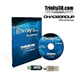 V-Ray for 3ds Max Academic - Dongle included - Authorized Dealer - 1 year Term License
