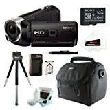 515oBCuPCWL. SL160  Sony HDR PJ230/B 8GB Full HD Camcorder with Projector Bundle with Sony 16GB Memory Card + Sony Soft Carrying Case + Replacement Battery NP FV50 + Accessory Kit