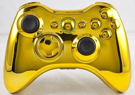 GOLD Xbox 360 Modded Controller (Rapid Fire) COD MW3, Black Ops, MW2, MOD GAMEPAD