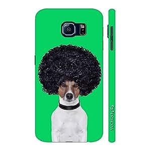 Enthopia Designer Hardshell Case AFRO DOG Back Cover for Samsung Galaxy S7 Plus