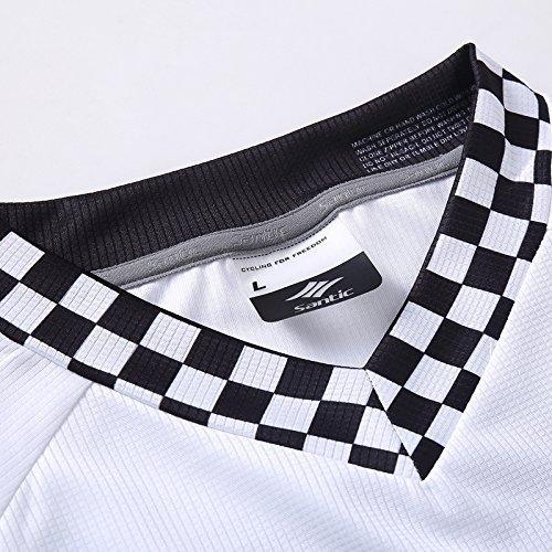 Santic Cycling Men's Downhill RideT-Shirt Long Jersey Long Sleeve White  santic cycling men s downhill ridet shirt long jersey long sleeve white