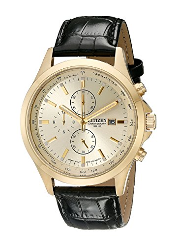 citizen-mens-an3512-03p-gold-tone-stainless-steel-watch-with-black-leather-band