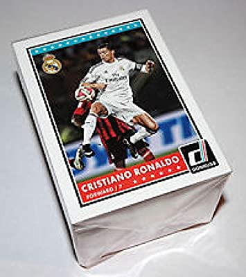 2015 Donruss Soccer Complete Base 100 card Set Messi Neymar Ronaldo Zlatan
